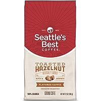 Seattle's Best 咖啡烤榛子味中烤研磨咖啡,每袋339.6克