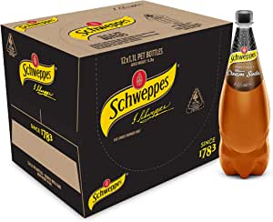 Schweppes Brown Creaming Soda Soft Drink, 12 x 1.1L