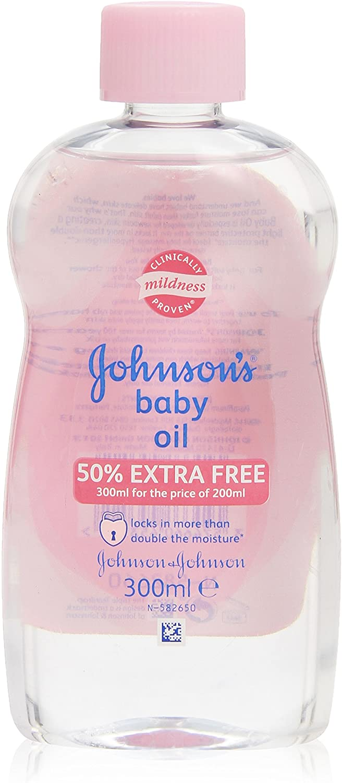 Johnsons Baby - Oil - Aceite para masaje - 300 ml: Amazon.es: Belleza
