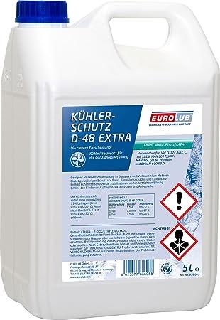 Eurolub 836005 enfriador enfriador de protección, protección contra heladas, Azul y verde, 5