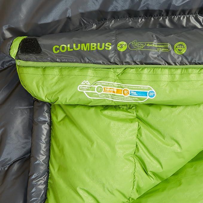 Kathmandu Columbus - Saco de Dormir de plumón lrgr: Amazon.es: Deportes y aire libre