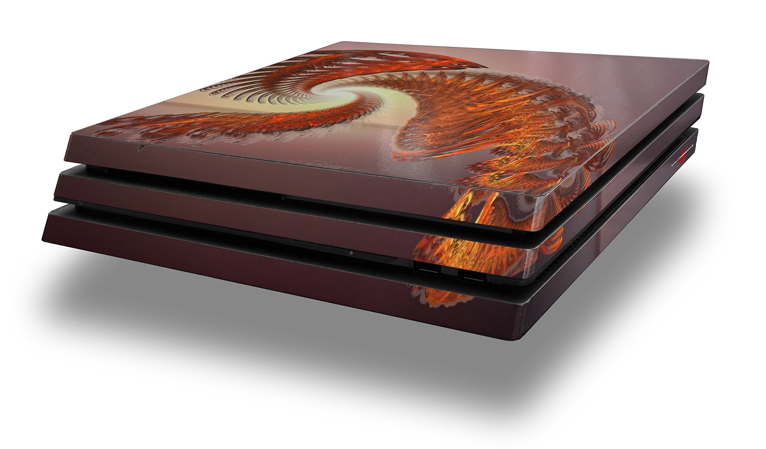 WraptorSkinz PS4 Pro Skin - Solar Power - Decal Style Skin Wrap fits Sony PlayStation 4 Pro Console by WraptorSkinz