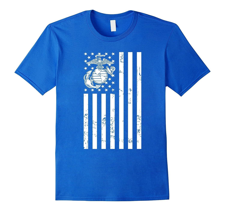 American Flag Marine T-Shirt