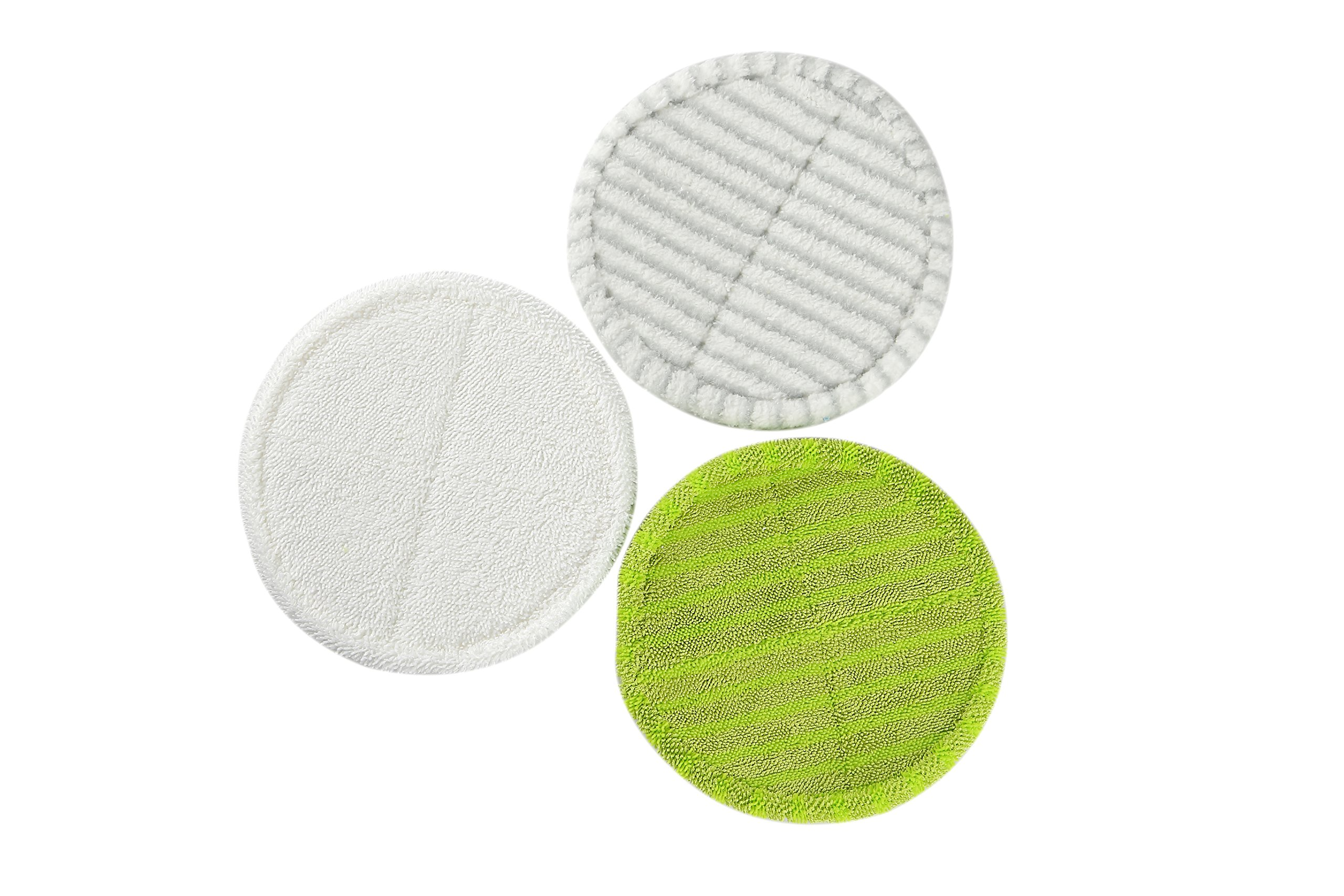 LTWHOME Replacement Mop Pads Set Fit for Bissell Spinwave 2039A 2124, Elicto ES-200, ES-530, (Pack of 12)