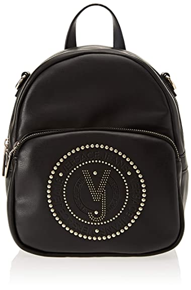 0a29027a6174 Amazon.com: Versace EE1VSBBR7 E899 Black Backpack for Womens: Shoes