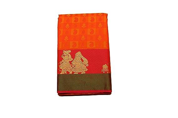 372e52ce13991a Vallalar Silks Women s Kanchipuram Silk Saree (1903931