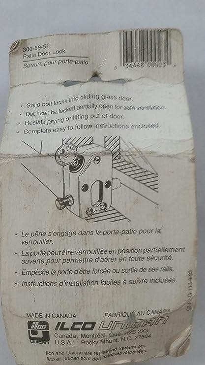 Amazon Patio Door Lock 300 59 51 Home Improvement