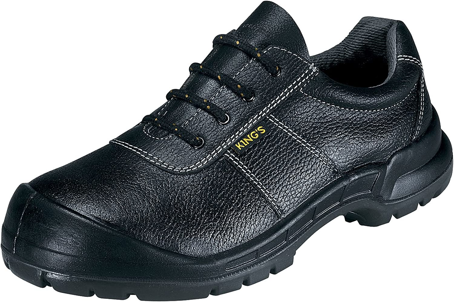 53711 Extra Wide Black Safety Boots