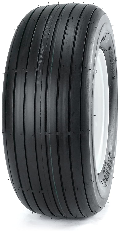 Kenda K401H Rib Turf Lawn and Garden Bias Tire - 16/6.50-8