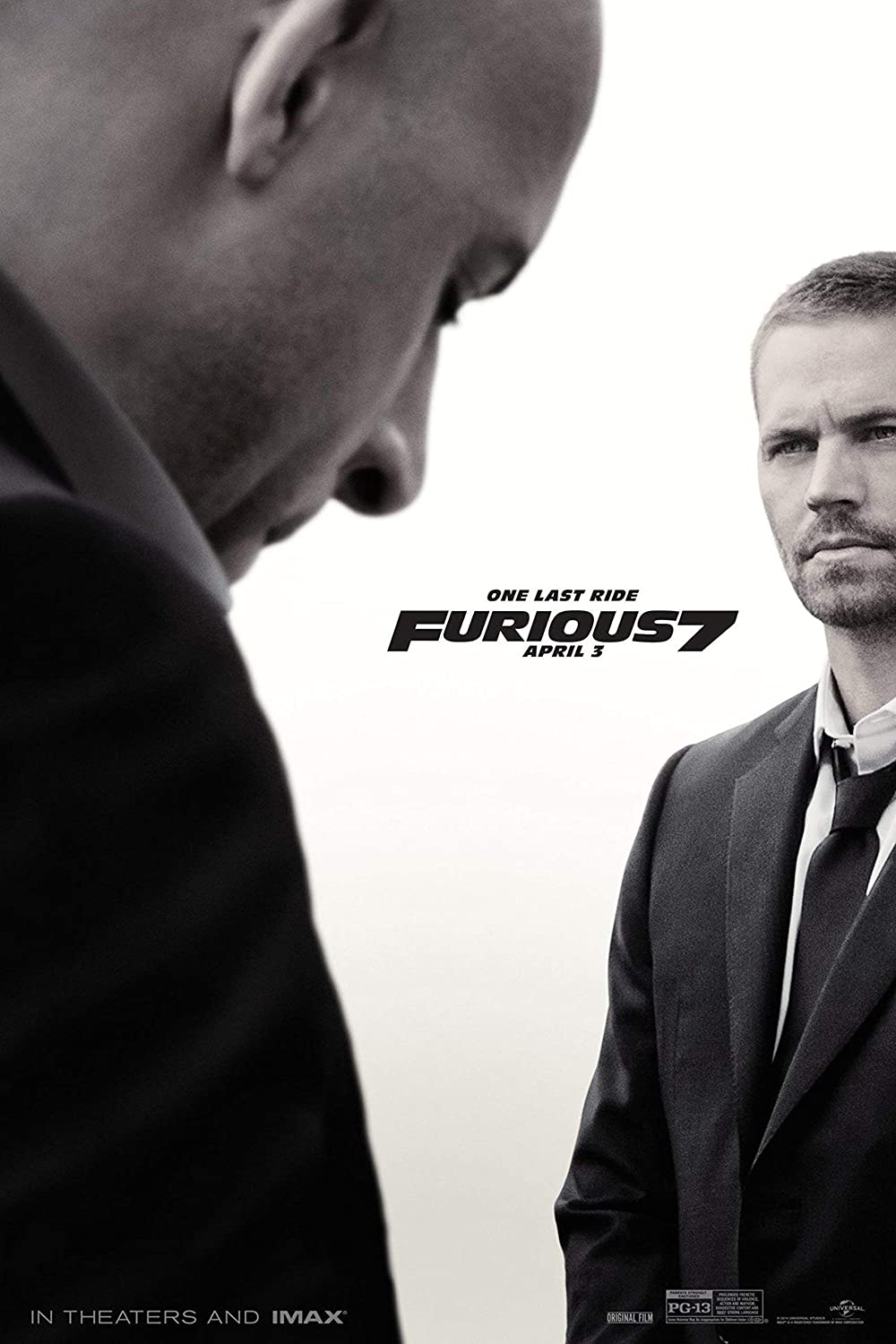 UpdateClassic Fast and Furious 7 Movie - Poster 11 x 17 inch Poster Print Frameless Art Gift 28 x 43 cm Matte Paper Surface