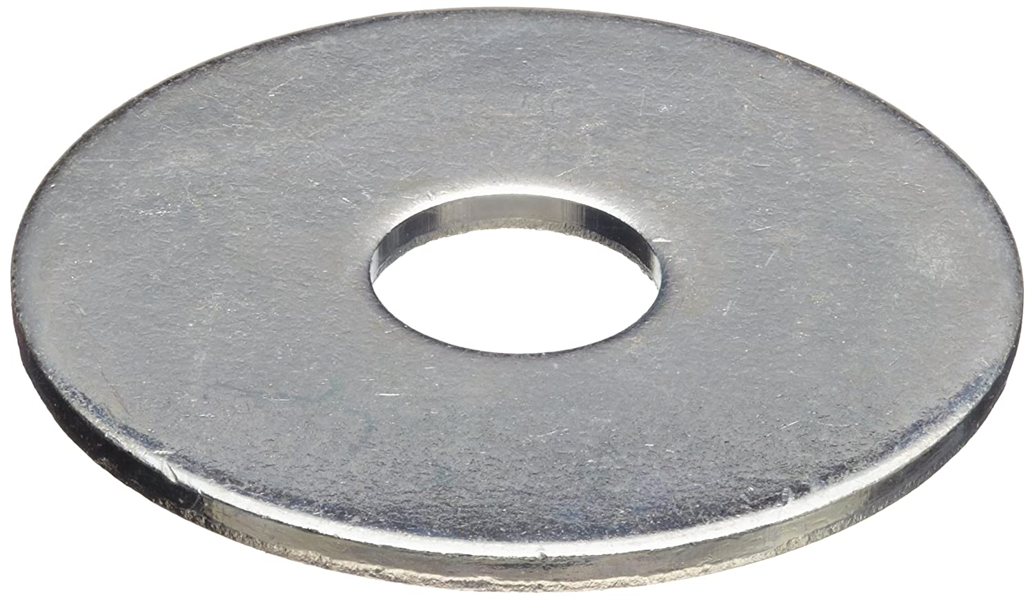 Large Washers Steel Flat Washer Zinc Plated Finish Inch Made In Us Amazon