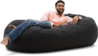 bean bag chairs for adults. Big Joe Media Lounger Foam Filled Bean Bag Chair Chairs For Adults