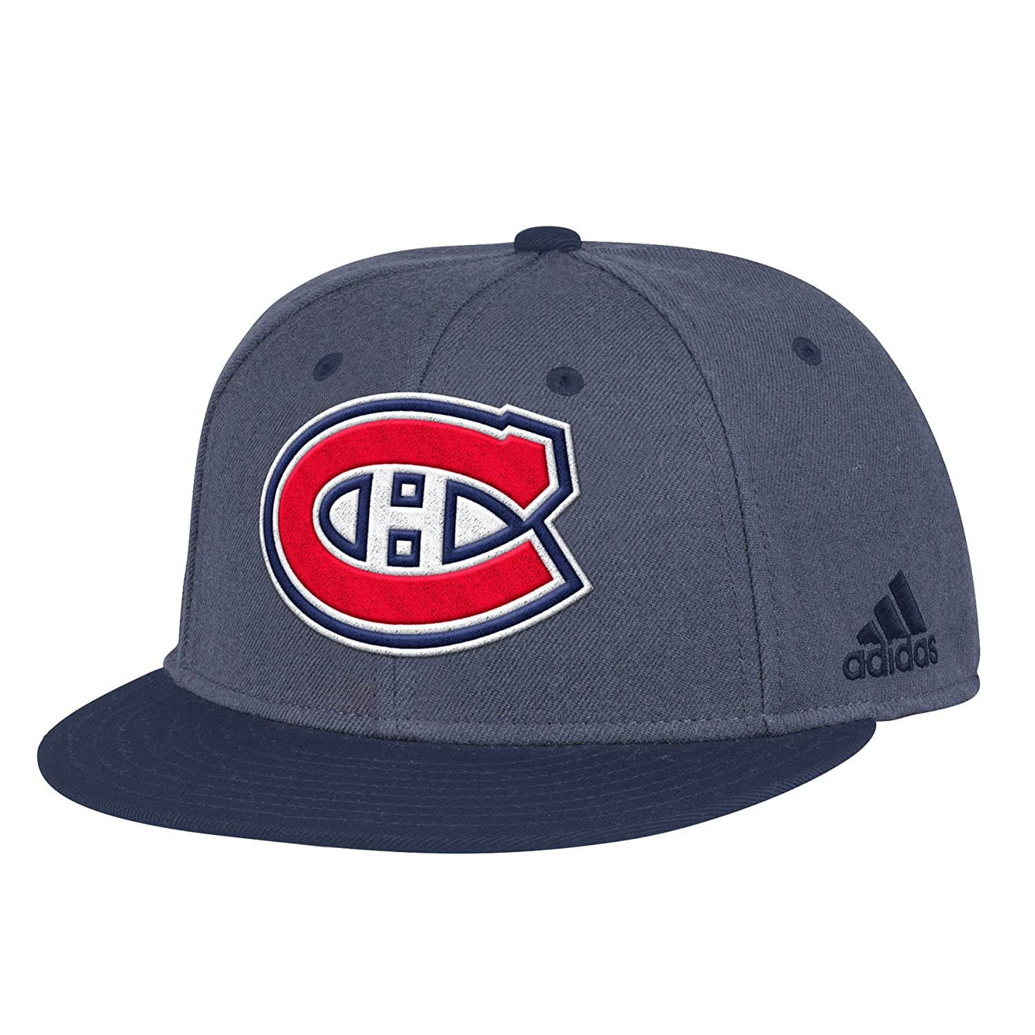 adidas Unisex NHL Montreal Canadiens Two Tone Fitted Cap e803aa0a8846