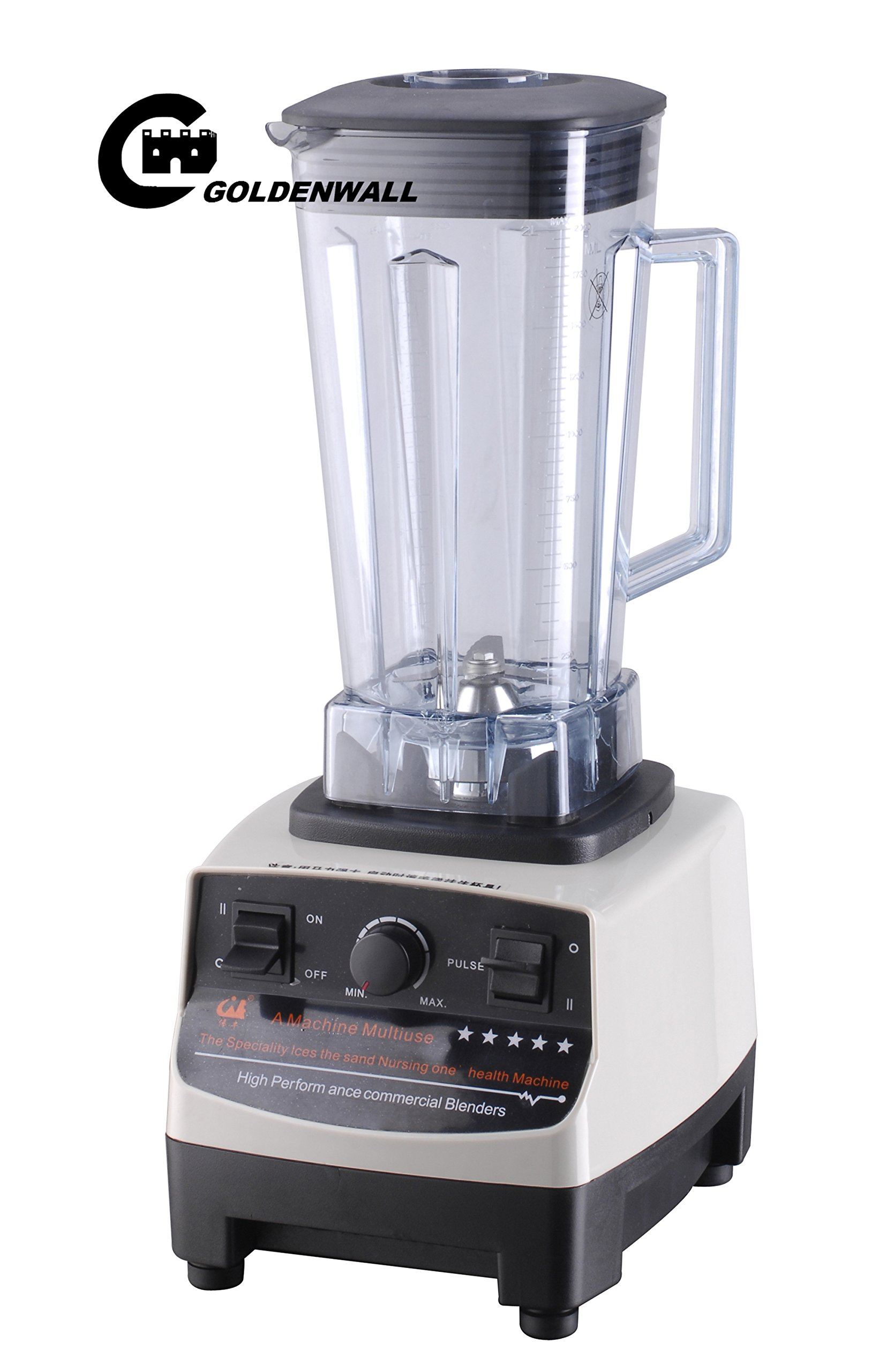 2L 12000W Commercial professional power blender vegetable / fruit squeezers & Reamers Sand ice machine / Soymilk Juicer maker juice extractor for home or milk tea shop 25000R/min