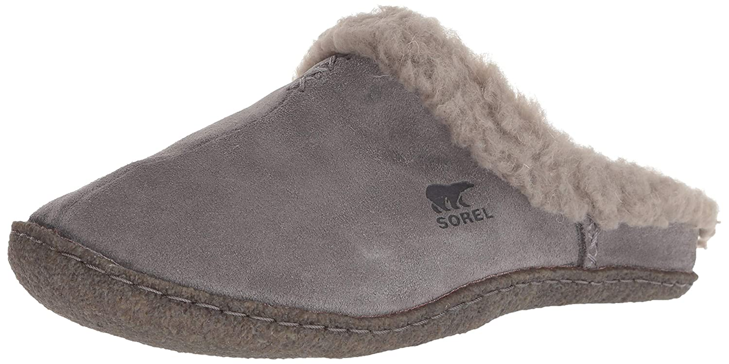 Sorel Women's Nakiska Slide Slipper quarry chrome grey 5 M US