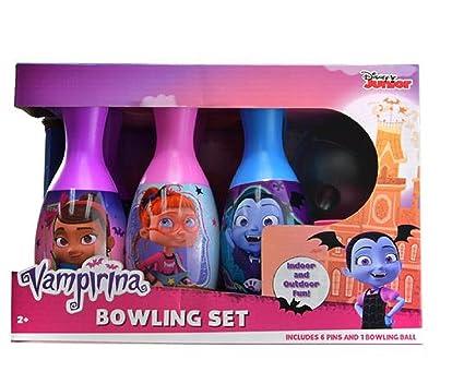 Amazon Com Vampirina Bowling Set Toy Toys Games