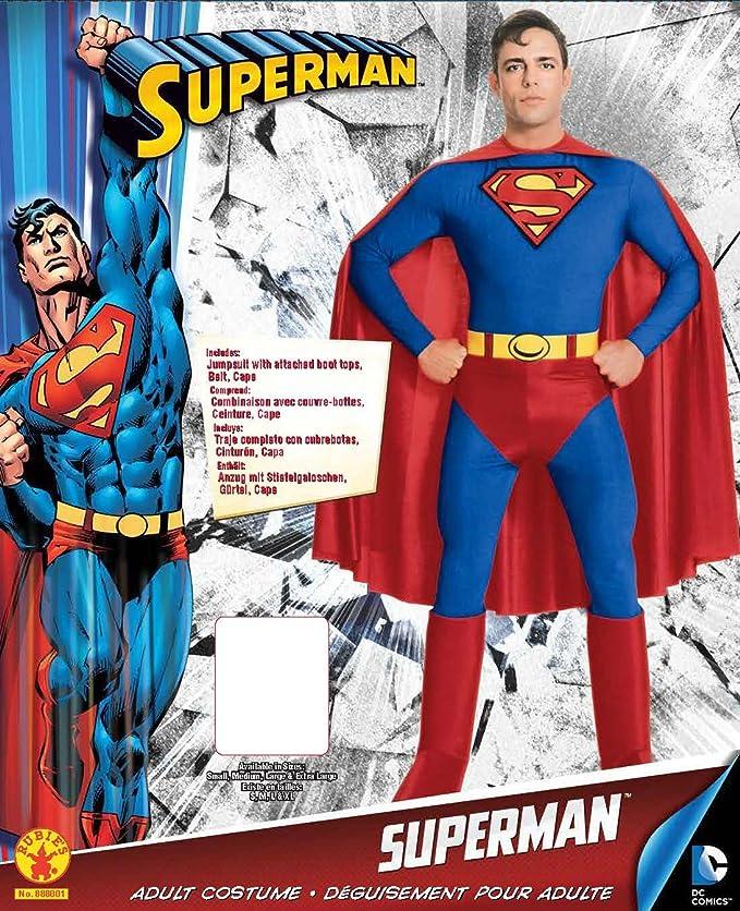 Amazon.com: DC Comics Superman Costume: Toys & Games