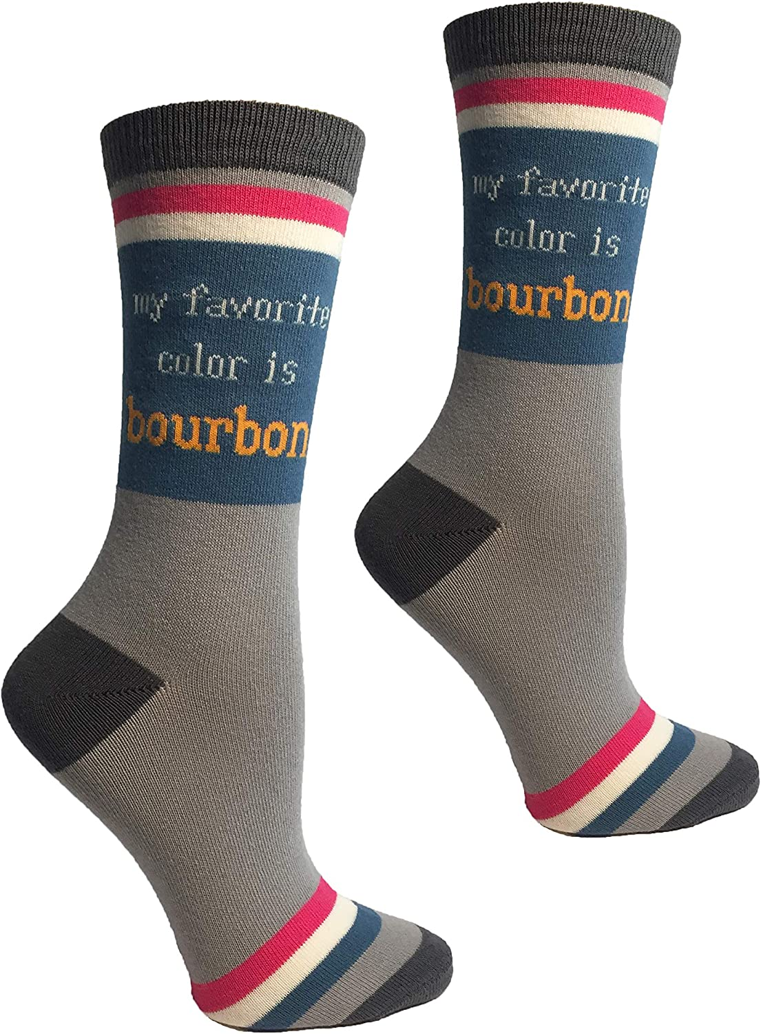 Bourbon is My Favorite Color Womens Socks