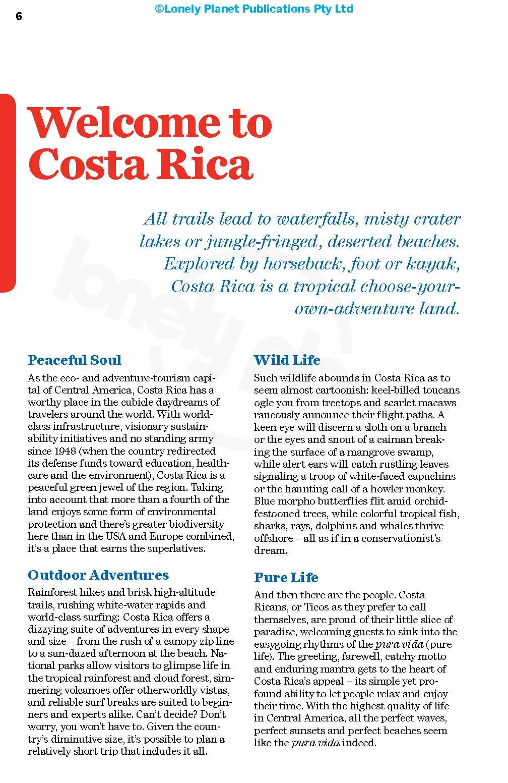 Lonely Planet Costa Rica (Travel Guide): Lonely Planet, Mara Vorhees, Anna  Kaminski: 9781786571120: Amazon.com: Books
