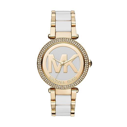 Amazon.com: Michael Kors, MK6313 Parker, reloj dorado para ...