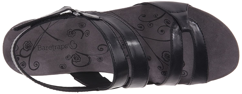 BareTraps B01C9NBXLK Women's Jerie Wedge Sandal B01C9NBXLK BareTraps 5.5 B(M) US|Black 9ea3ee