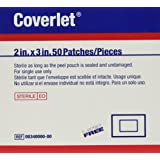 Coverlet Adhesive Strips, 2 x 3 Inch, 50 Count