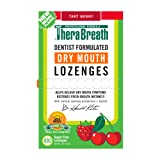 TheraBreath Dry Mouth Dentist Formulated Lozenges, Sugar Free, Tart Berry Flavor, 100 Count