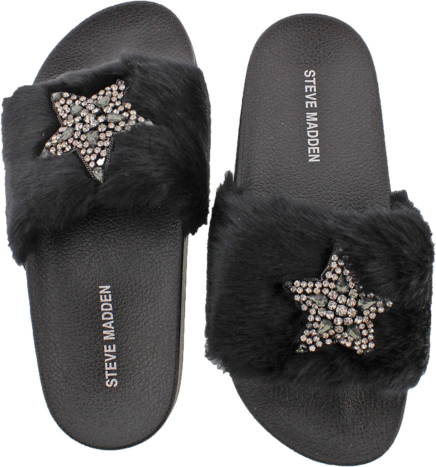huge inventory low price offer discounts Amazon.com | Steve Madden Womens Shimmer Embellished Casual Slide ...