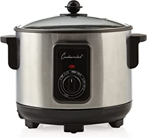 Continental Electric CP43279 5.5 Liter Deep Fryer Stainless Steel