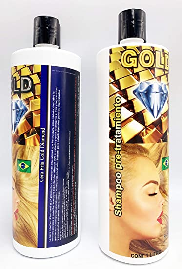 Cera Fria Capilar Gold Diamond Oro Diamante 1litro