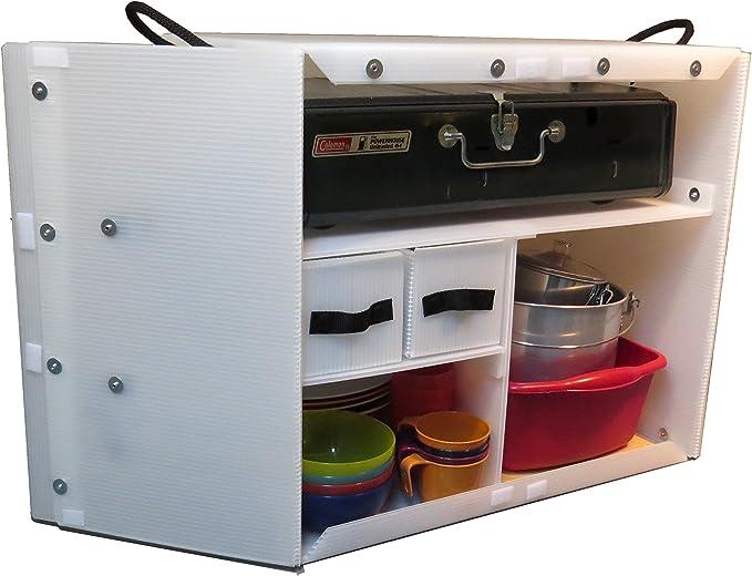 Caja de cocina para camping: Amazon.es: Deportes y aire libre