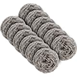 MR. SIGA Stainless Steel Scourer,Pack of 12,30g
