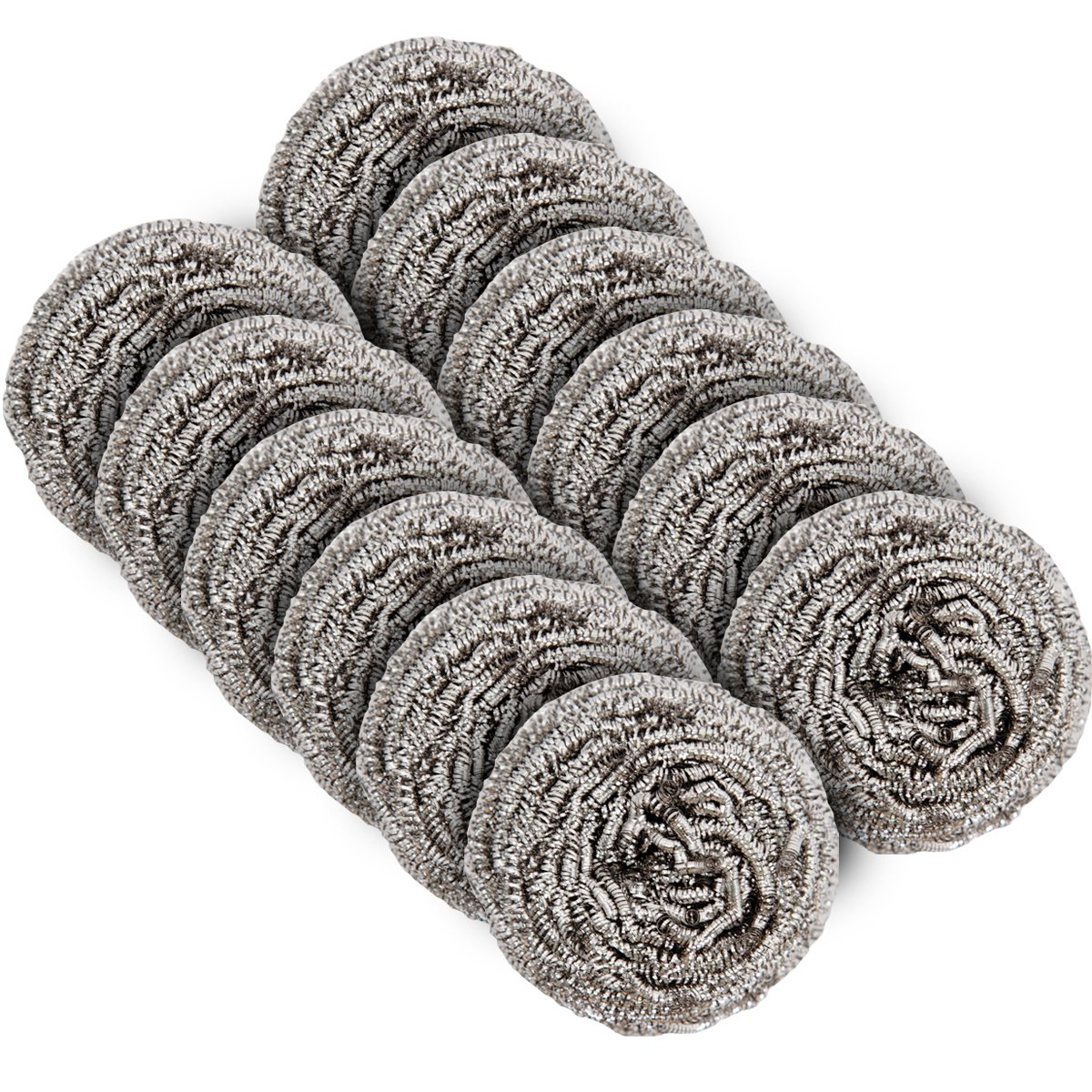 MR. SIGA Stainless Steel Scourer, Pack of 12, 30g Ningbo Shijia Cleaning Tools Co. Ltd. SJ21582
