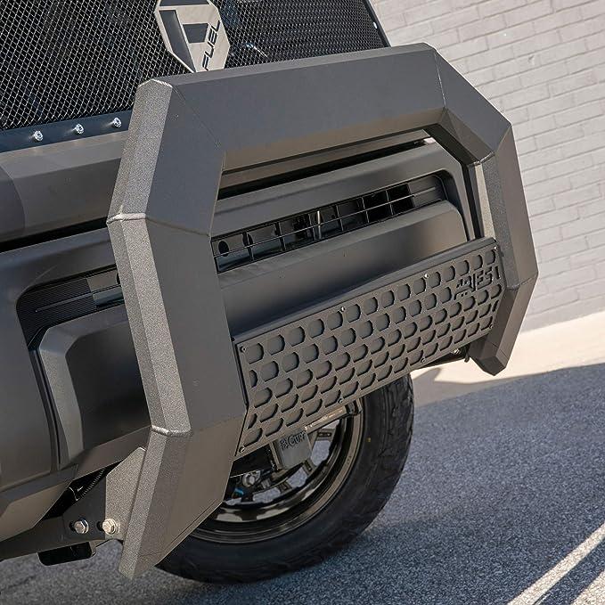 Select Toyota Tundra ARIES 2152100 AdvantEDGE Chrome Aluminum Truck Bull Bar with Lights