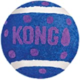 KONG - Cat Active Tennis Balls with Bells - Juguete para gatos con un cascabel dentro - Pack de 3