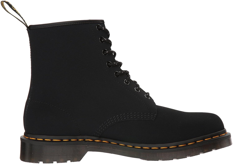 Dr. Martens Men's 1460 Combat Boot, 8.5 B(M) US Women/7.5 D(M) US Men B078ZKT1H4 9 Medium UK (10 US)|Black