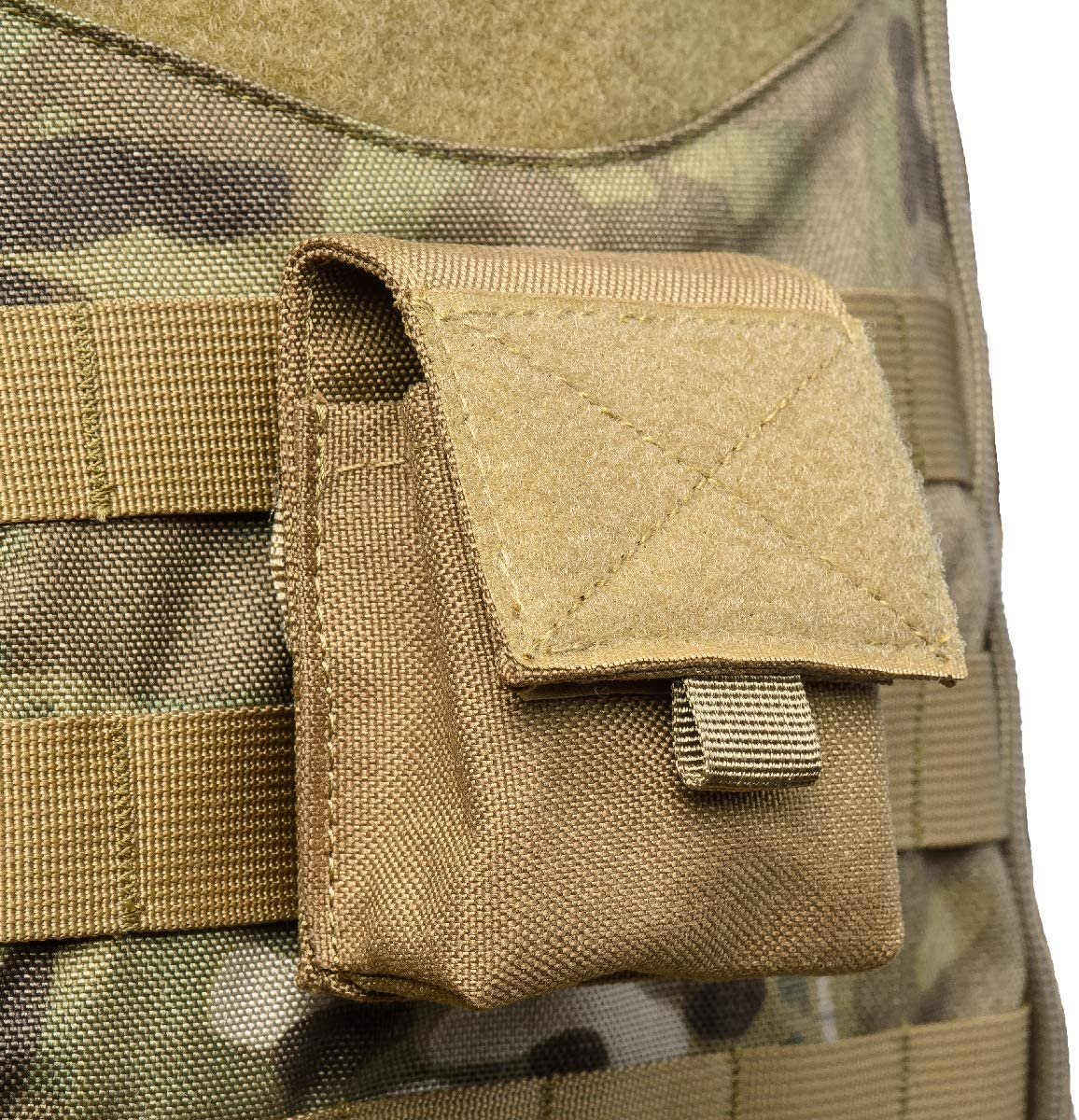 TRIWONDER Tactical Molle Pouch Waist Bags Pack Small EDC Utility Pouch Military Bag Case Card Holder Lighter Slot Mini Tactical Sundries Storage Bag