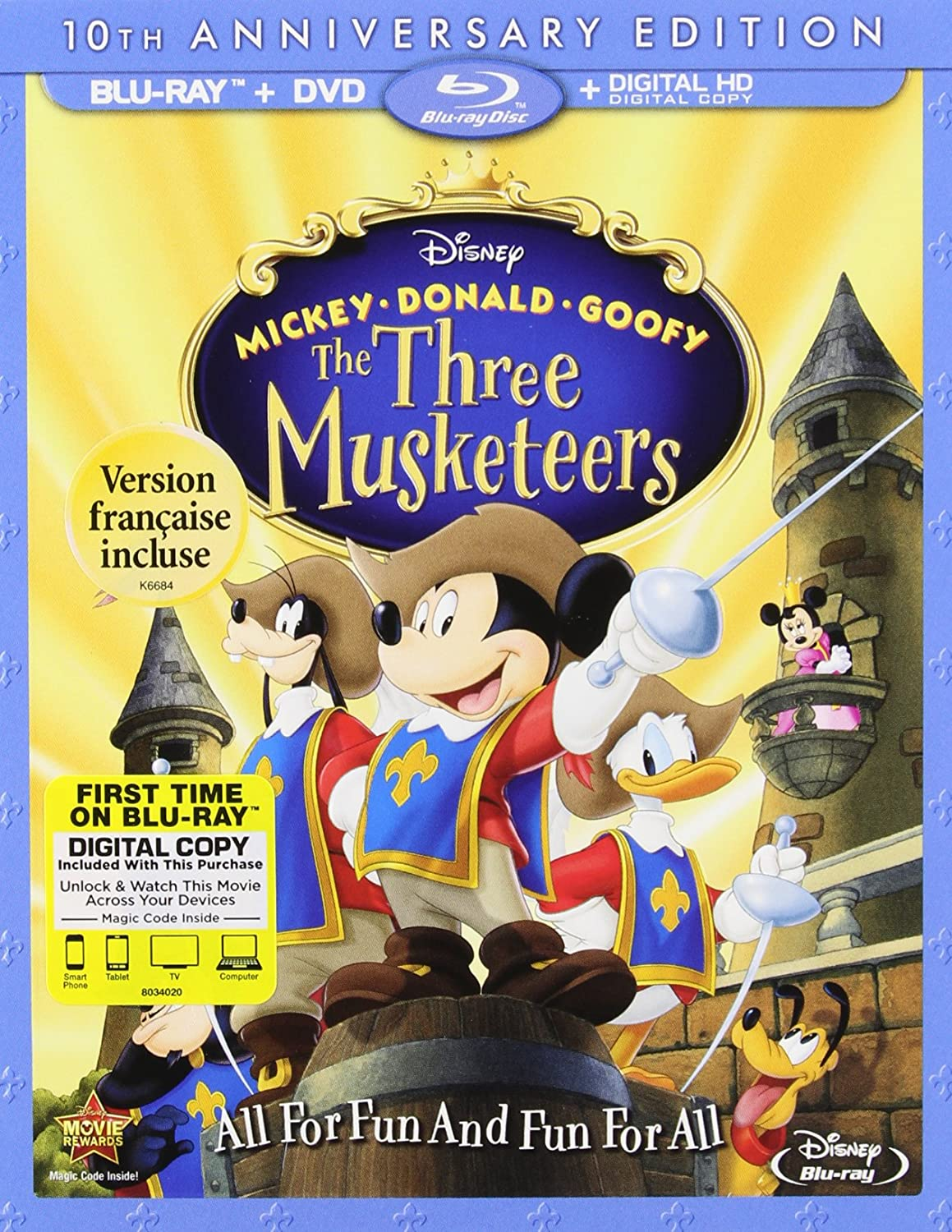Mickey Donald Goofy: Three Musketeers