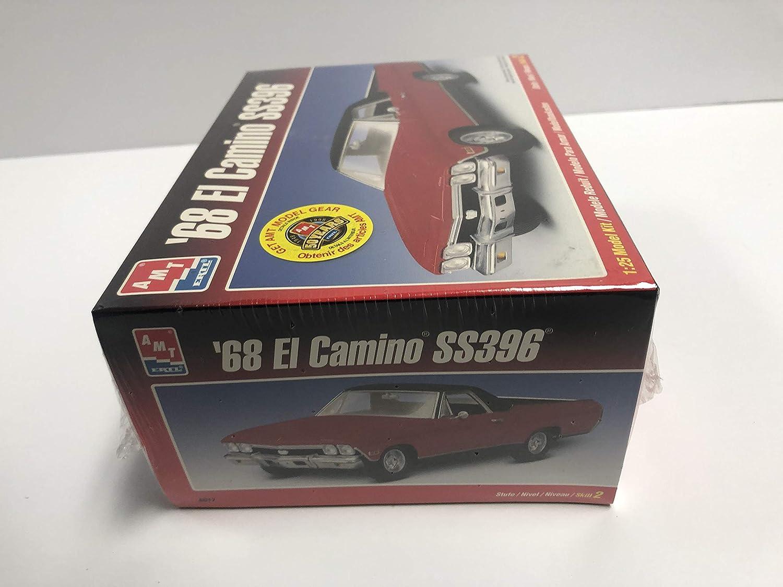 68 El Camino SS396 AMT ERTL 1:25 scale Model Kit