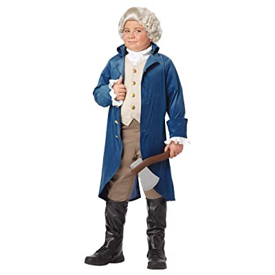 California Costumes George Washington/Thomas Jefferson/Alexander Hamilton and Colonial Child Costume, X-Large: Toys & Games