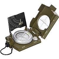 Italiaanse militaire stijl kompas met clinometer