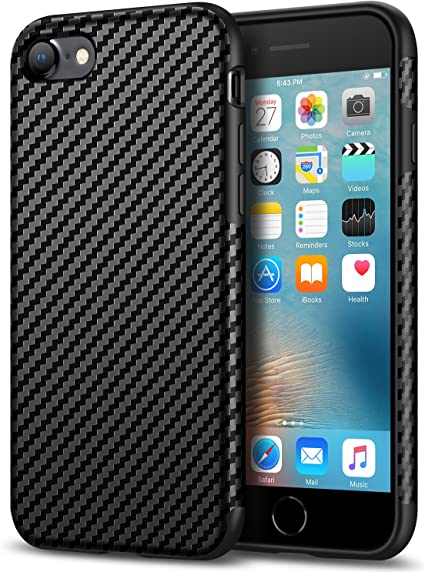 custodia iphone 8 carbonio
