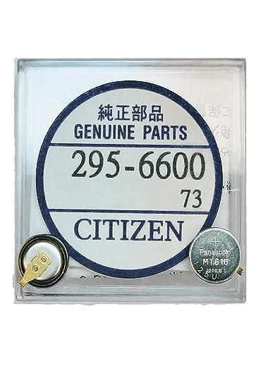 Amazon com: 295-6600 Genuine Original Citizen Watch Energy