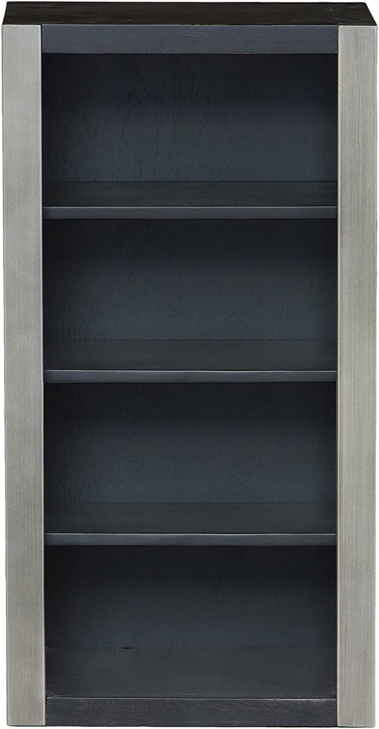 Right2Home Pulaski Graphite Bookcase