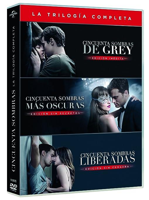 Cincuenta Sombras De Grey - Películas 1-3 [DVD]: Amazon.es: Dakota ...
