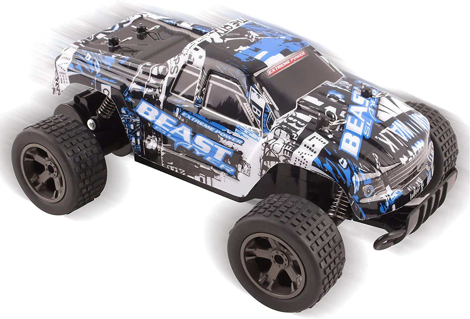 Vokodo Cheetah King Remote Control RC Buggy Truggy Truck Car 2.4 GHz System 1:18 Scale Size RTR w/ Working Suspension, High Speed, Radio Control ...