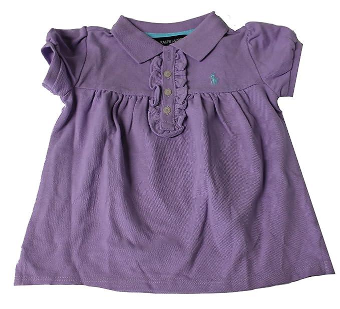 Polo_Ralph Lauren PM91 Vestido Polo de Lavanda para niñas Morado ...