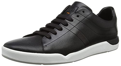 Mens Adrenal_Runn_pp1 10201494 01 Low-Top Sneakers, Brown Boss Orange by Hugo Boss