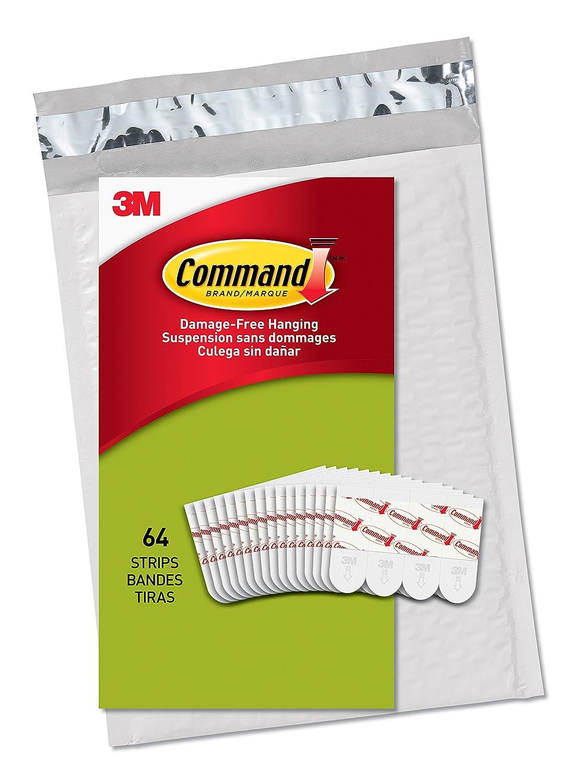Command Poster Hangers White Hang Artwork Easy On Easy Off Value Pack PH024 64NA