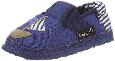 Nanga Unisex-Kinder Seemann Hausschuhe, Blau (Blau), 32 EU